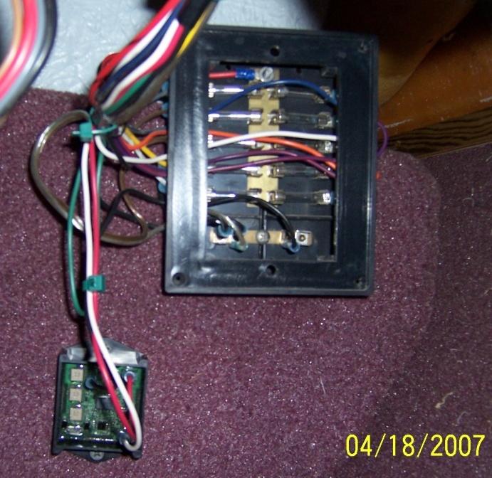 boat fuse panel installation
