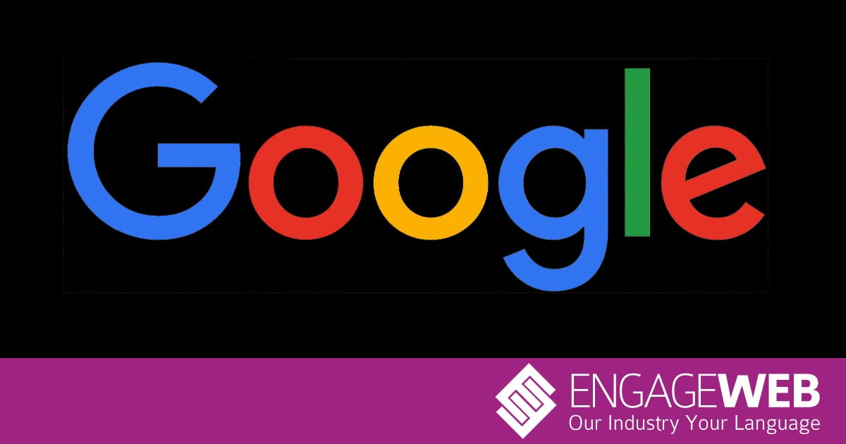 Google-logo-black-background - Engage Web Engage Web