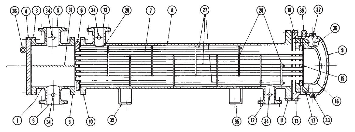heat exchanger diagrams