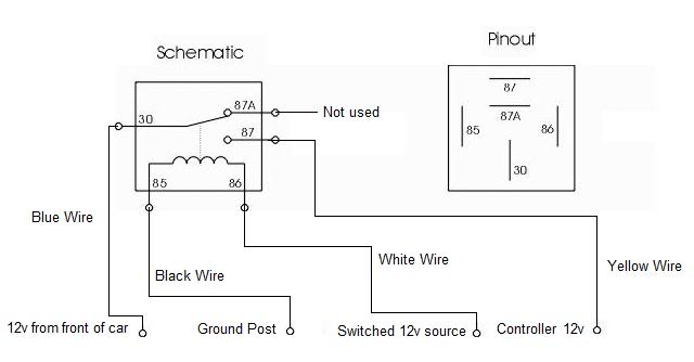 Wiring 12v Relay Switch Better Wiring Diagram Online
