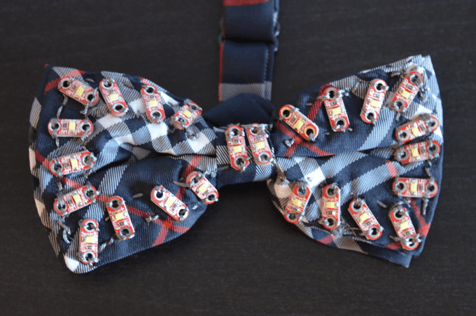Fiat Lux Bow Tie (Wearable Electronics & STEM Center USA!)