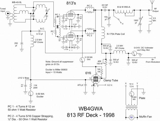 1000 Watts Amplifier Circuit Diagrams Methods For Generating Amplitude Modulation Engineering