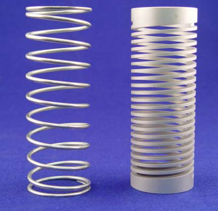 Wire Springs versus Machined Springs A Comparison