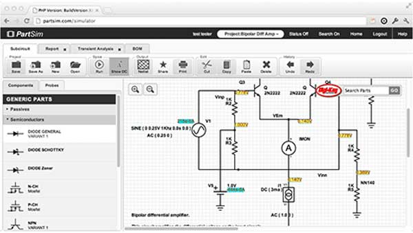 electronic circuit maker online
