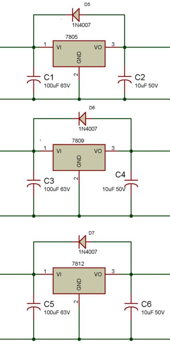 Ic 7805 Datasheet Pin Diagram Description Engineersgarage Online