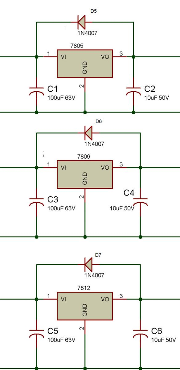 Triple Bench Power Supply EngineersGarage