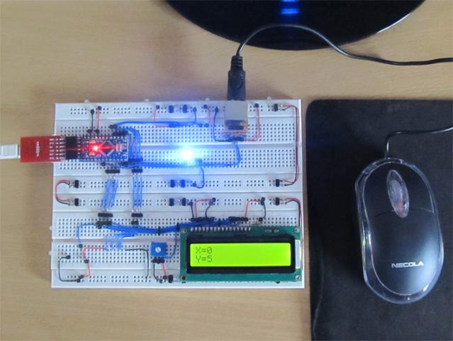 Arduino PS2 Mouse Interfacing Project with Circuit Diagram