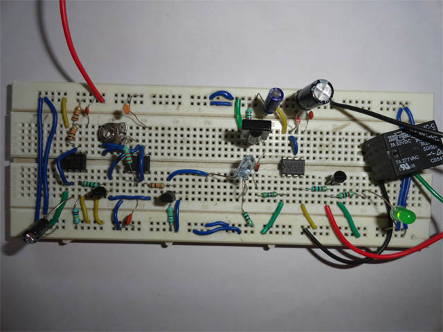 Automatic Wash Basin Tap Controller Project  Circuit Diagram