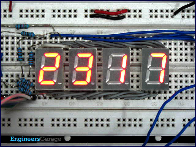 Digital Clock with 8051 Microcontroller (AT89C51) project with
