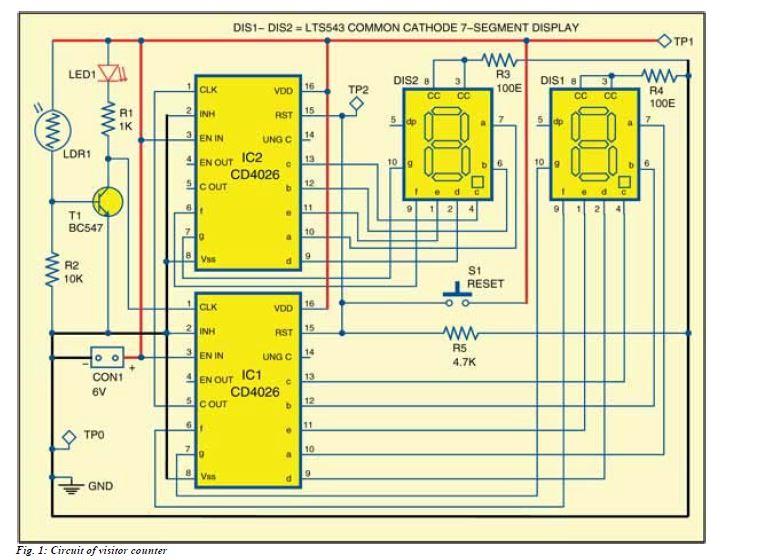 Pretty 7 Segment Display Circuit Diagram Images Gallery