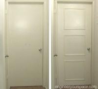 Easy door upgrade with moulding   Smart DIY Solutions for ...