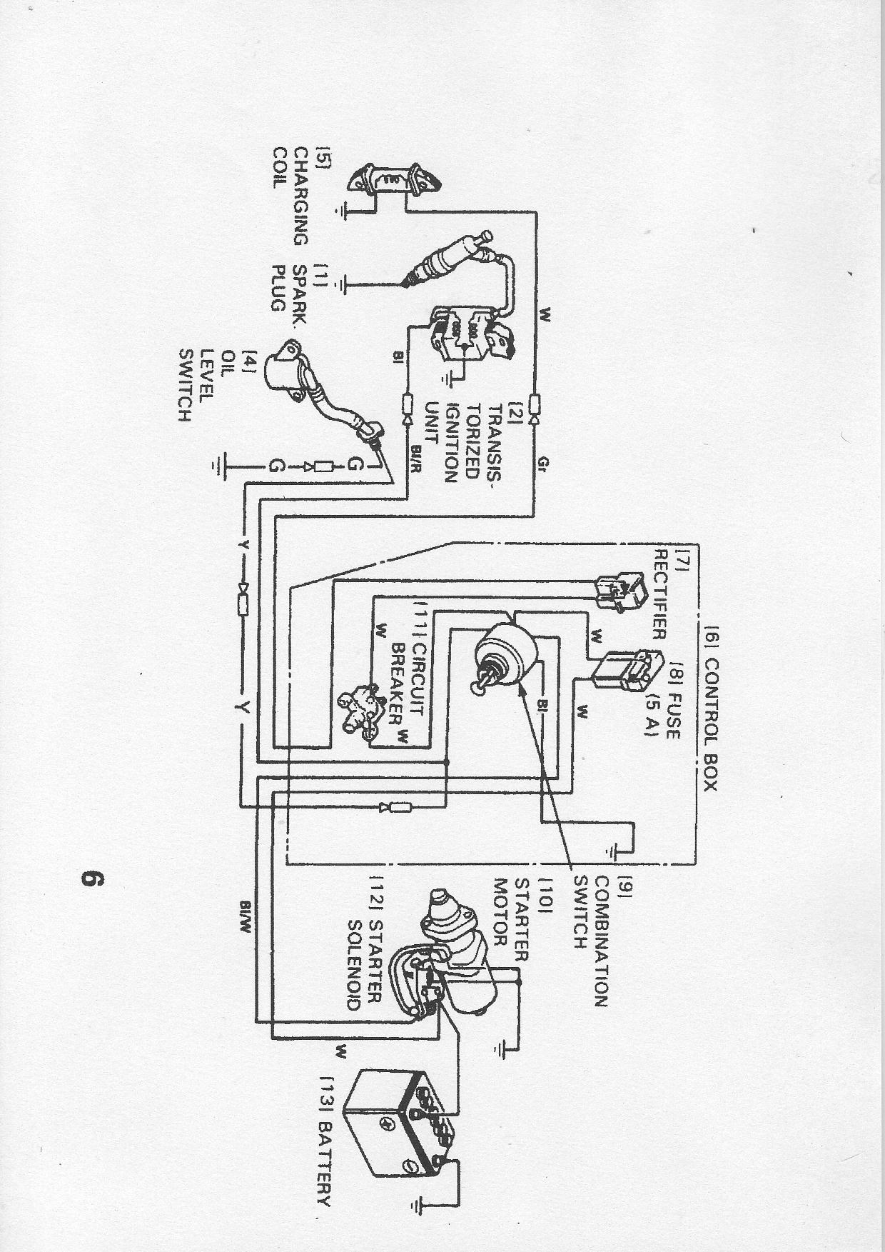 gx390 coil wiring diagram