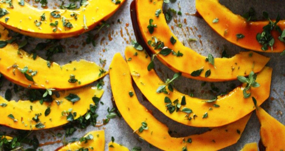 Ovnbagte Græskarfritter med Hoisin Sauce