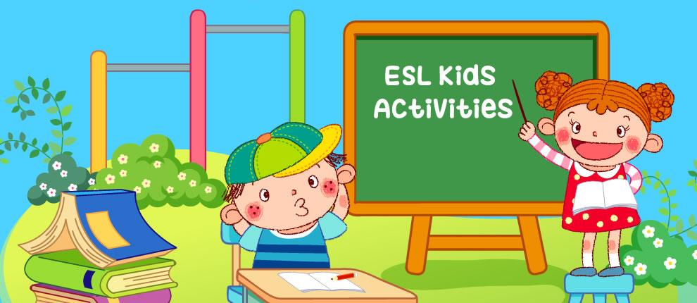 EFL Activities for Kids, ESL Printables, Worksheets, Games, Puzzles