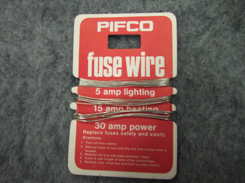 Turning off power to a circuit with ceramic fuse - English Forum