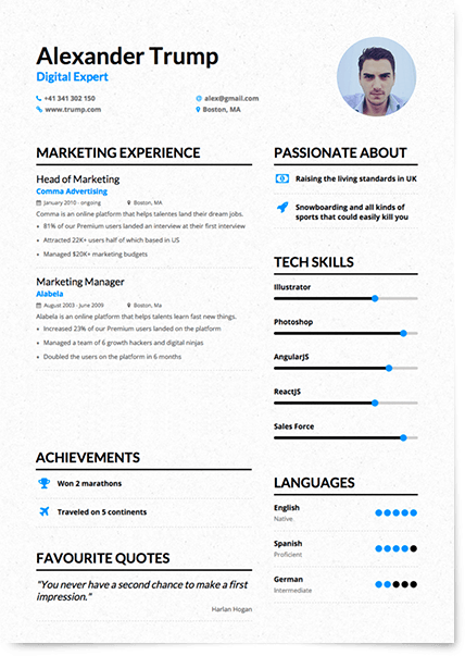 what are some skills for a resumes
