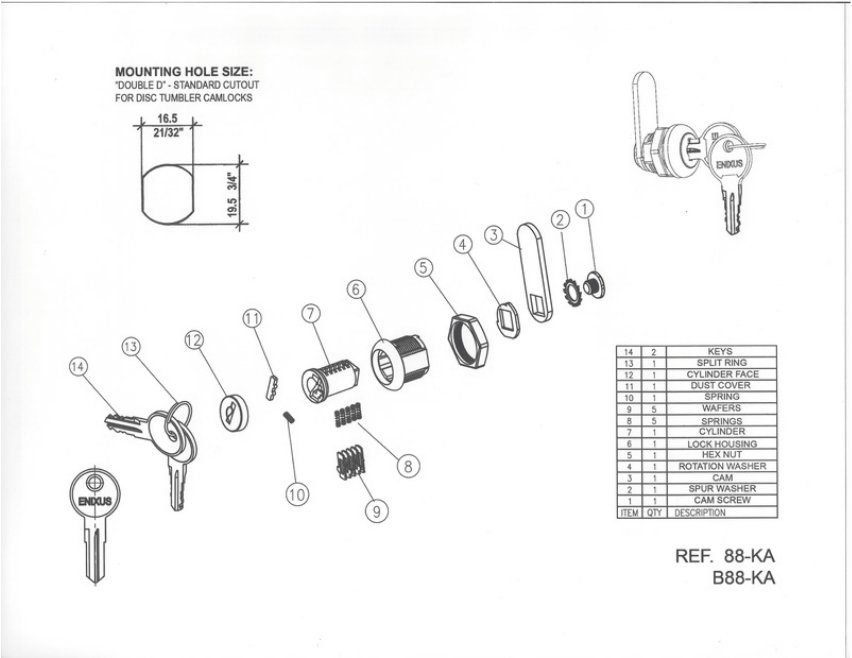 bm line lock diagram