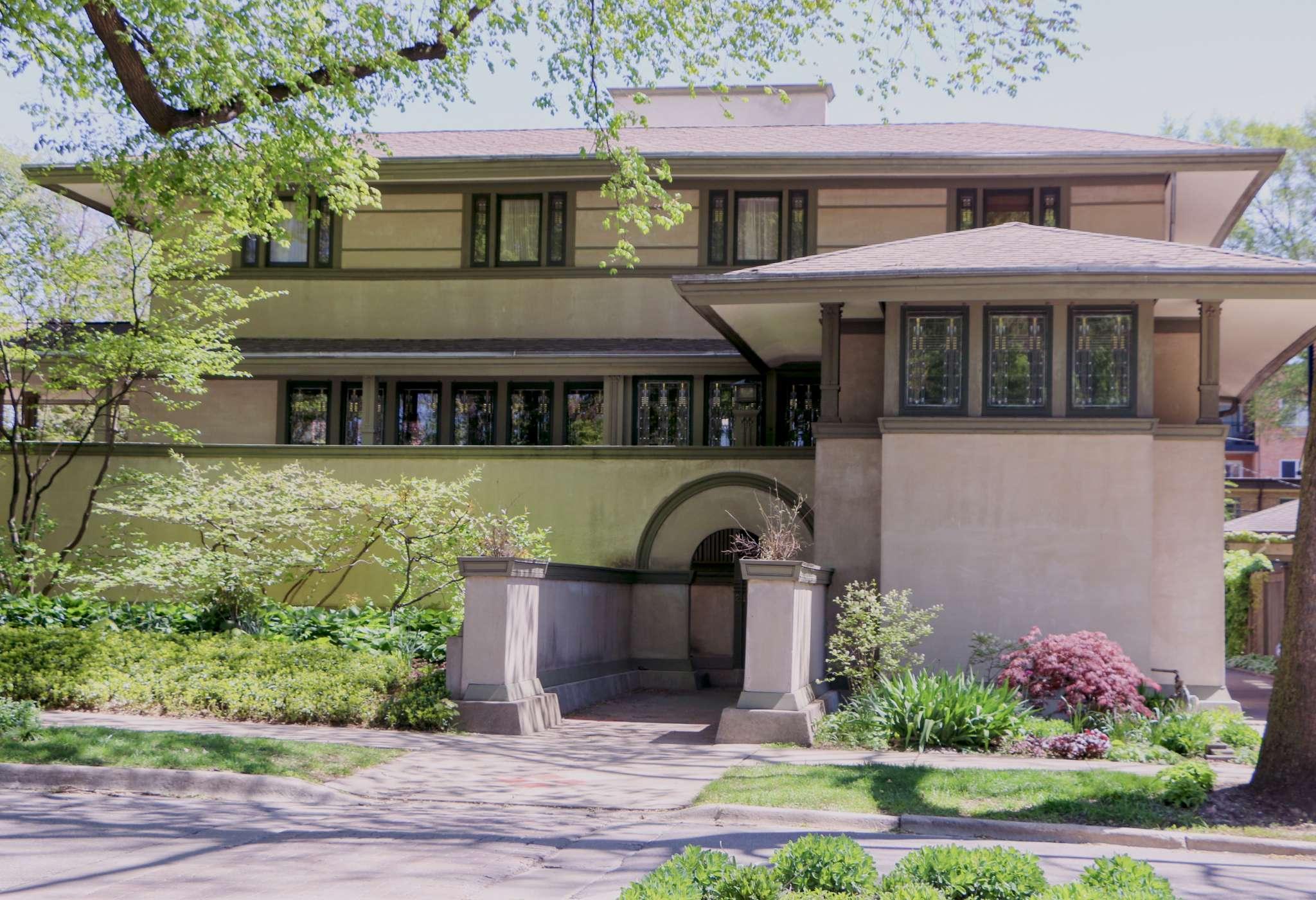 Frank Lloyd Wright In Oak Park