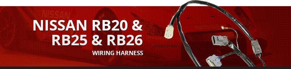 Nissan - Nissan RB20  RB25  RB26 - Wiring Harness - Enjuku Racing
