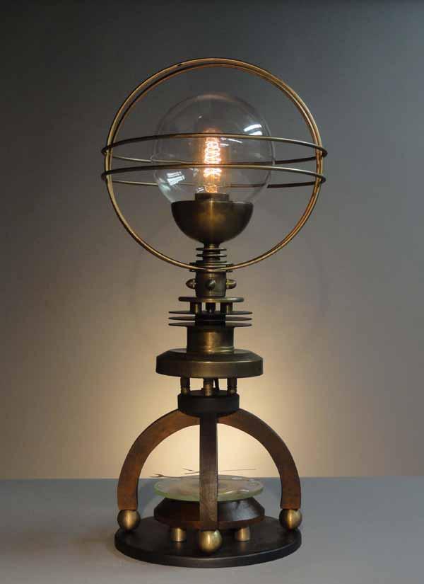Steampunk Licht Und Technik On Pinterest Steampunk Lamp