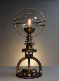 Steampunk Licht und Technik on Pinterest | Steampunk Lamp ...