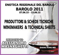 BAROLO 2011: PRODUTTORI & SCHEDE TECNICHE