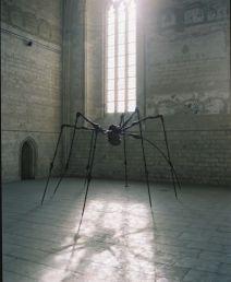 Louise Bourgeois, Spider, 1995. Acier, 337,8 x 642,6 x 469,9 cm, Musée d'art moderne de la Ville de Paris, photographie François Halard, © Louise Bourgeois Trust / Licensed by ADAGP