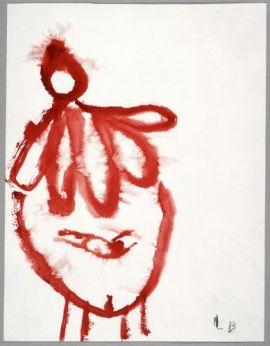 Louise Bourgeois, TheGoodMother, 2008. Gouache sur papier Courtesy galerie Yvon Lambert, Paris © Louise Bourgeois Trust / ADAGP