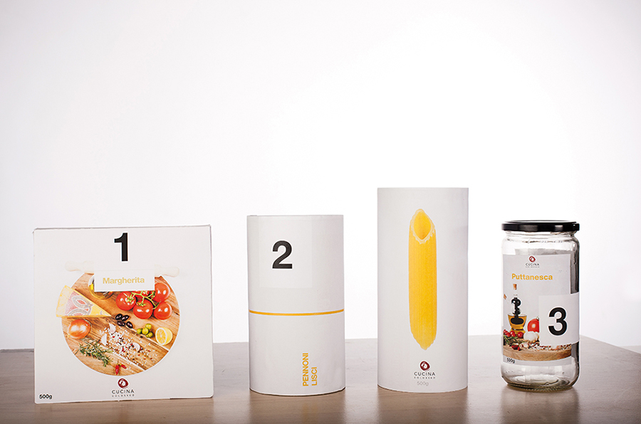 Pasta Culccina Packaging