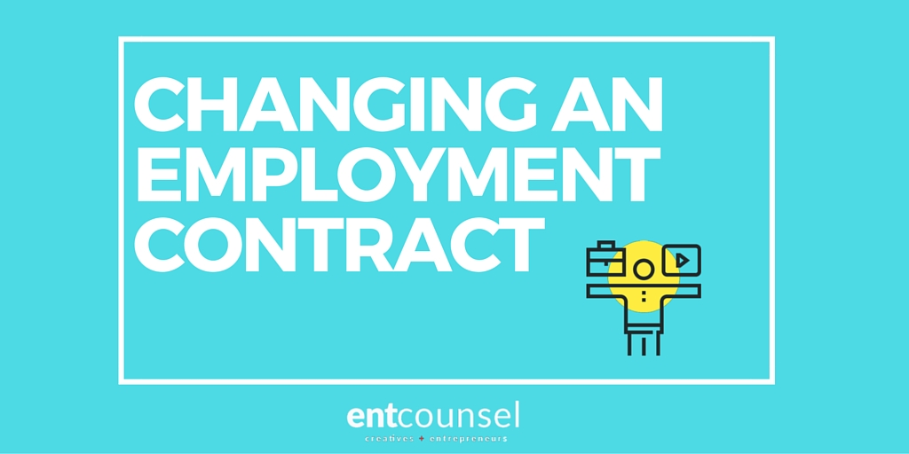 Changes to Employment Contract