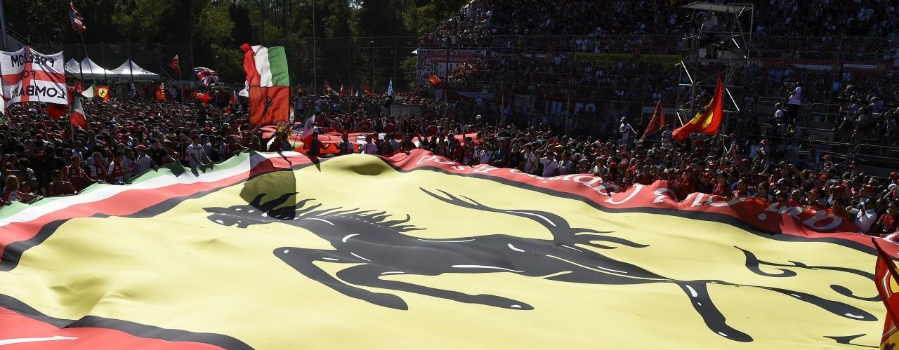 Tifosi at Monza
