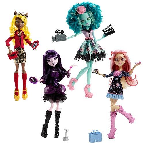 Monster High Frights, Camera, Action Dolls Case - Mattel - Monster