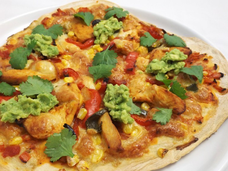 Chicken Fajita Pizza