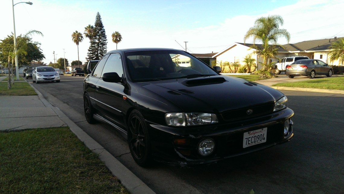 99 subaru impreza 2 5rs complete sti swap for. Black Bedroom Furniture Sets. Home Design Ideas