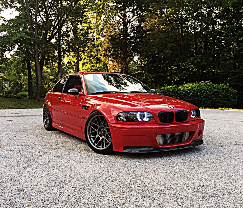 Supercharged E46 M3 – Stage 3.5 AA – Imola Red Beauty