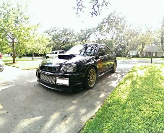 WRX STi 450hp Black Beast