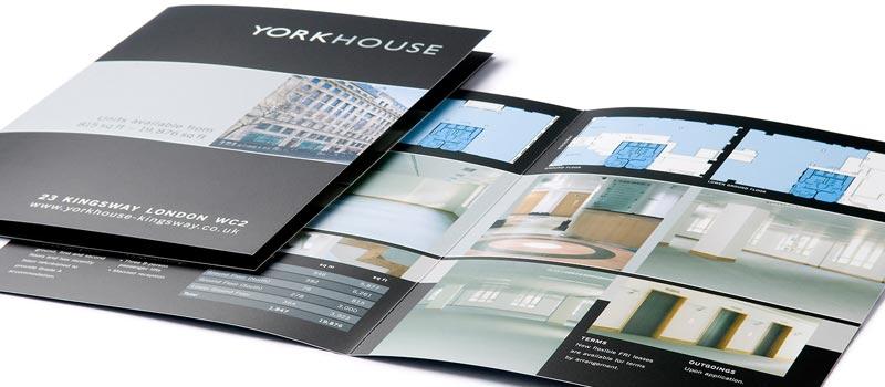 Property brochure design office let - property brochure