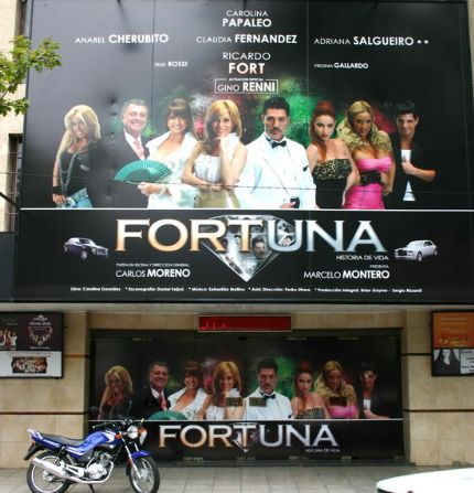 Cancelaron en uruguay la obra de ricardo fort por fuerte for Los ultimos chismes del espectaculo