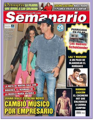 Pasando revista de la semana semanario hola pronto for Revistas argentinas de farandula