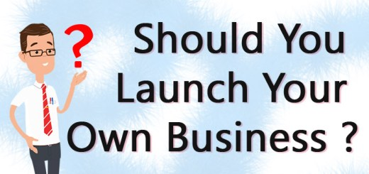 should you launch your own business