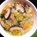 Sopa miso con shiitake