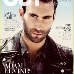 Fotos de Adam Levine, vocalista do Maroon 5, na revista Out