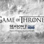 Game of Thrones: segunda temporada estreia em abril