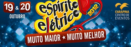 Esprito Eltrico 2012: confira a programao dos shows e preo dos ingressos