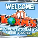 worms facebook jogar