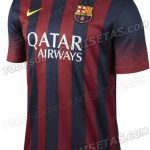 Vazam as fotos da nova camisa do Barcelona modelo 2013/14