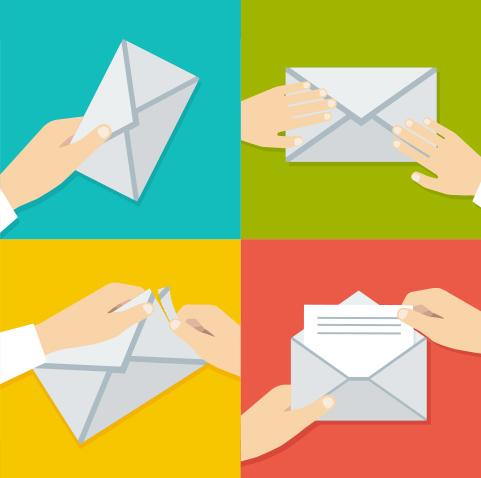Different types of envelope sealing - Envelope Printing