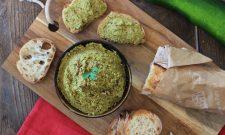 Tartinade aux courgettes et aux graines de tournesol (vegan). Recette en vidéo.