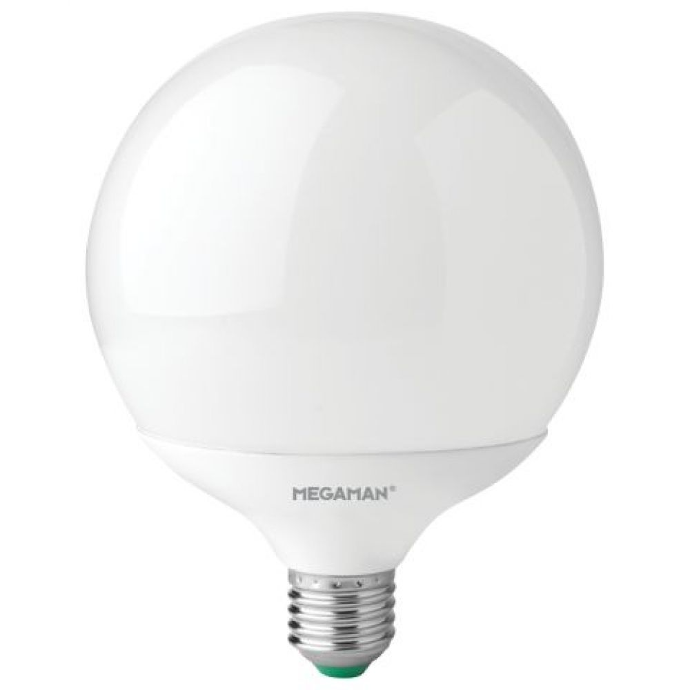 LED Globe 120mm 14W ES 1521lm Daylight 6500k Megaman