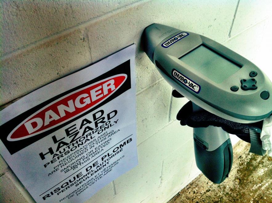 Non-destructive Lead Testing - Lead Paint Inspection